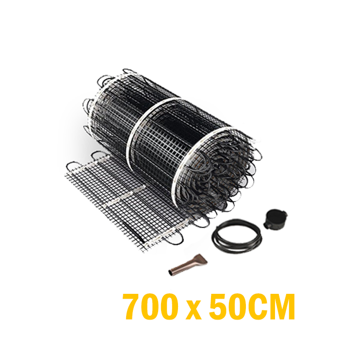 Vloerverwarming set - 525 Watt