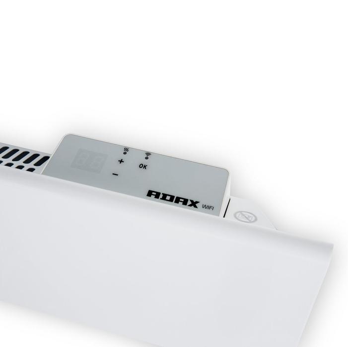 Adax Clea Wifi H - 1200 Watt