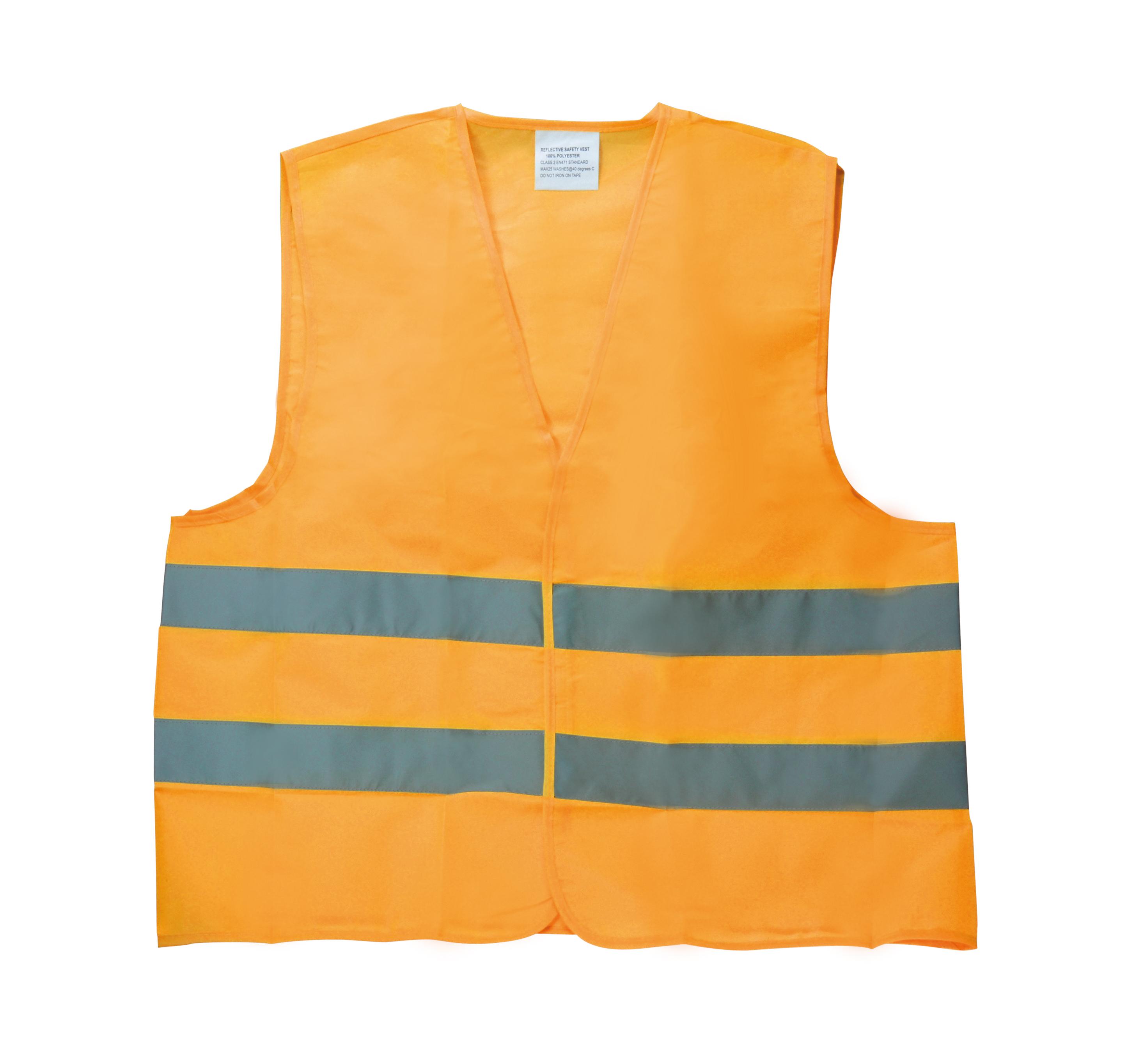 Veiligheidsvest oranje XL