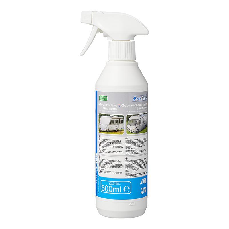Gebruiksklare shampoo 500ml voor caravan en camper