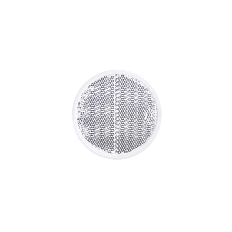 Reflector wit rond 60mm 2 stuks