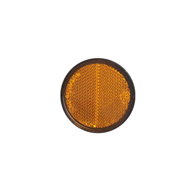 Reflector oranje 58mm 2 stuks