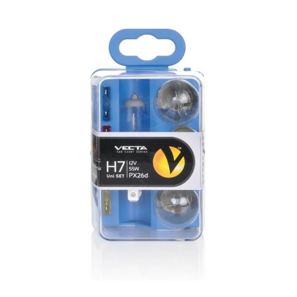 Lampenset H7 reservelampenset H7