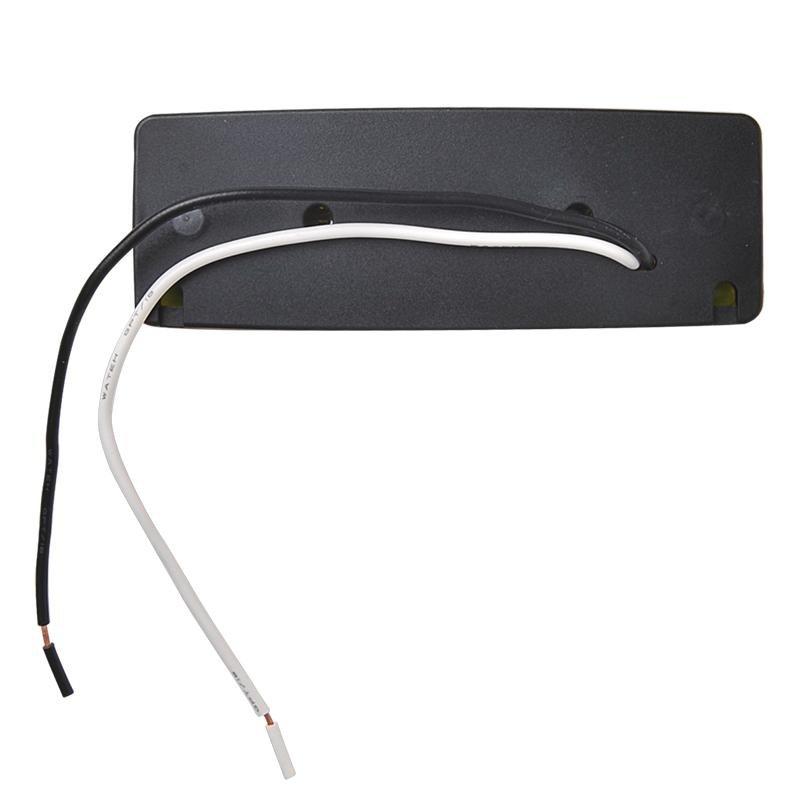 Markeringslamp 12/24V wit 110x40mm LED