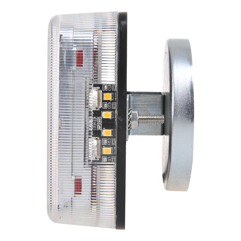 Aanhangerverlichtingsset LED 4F met magneten 7,5+2,5M kabel