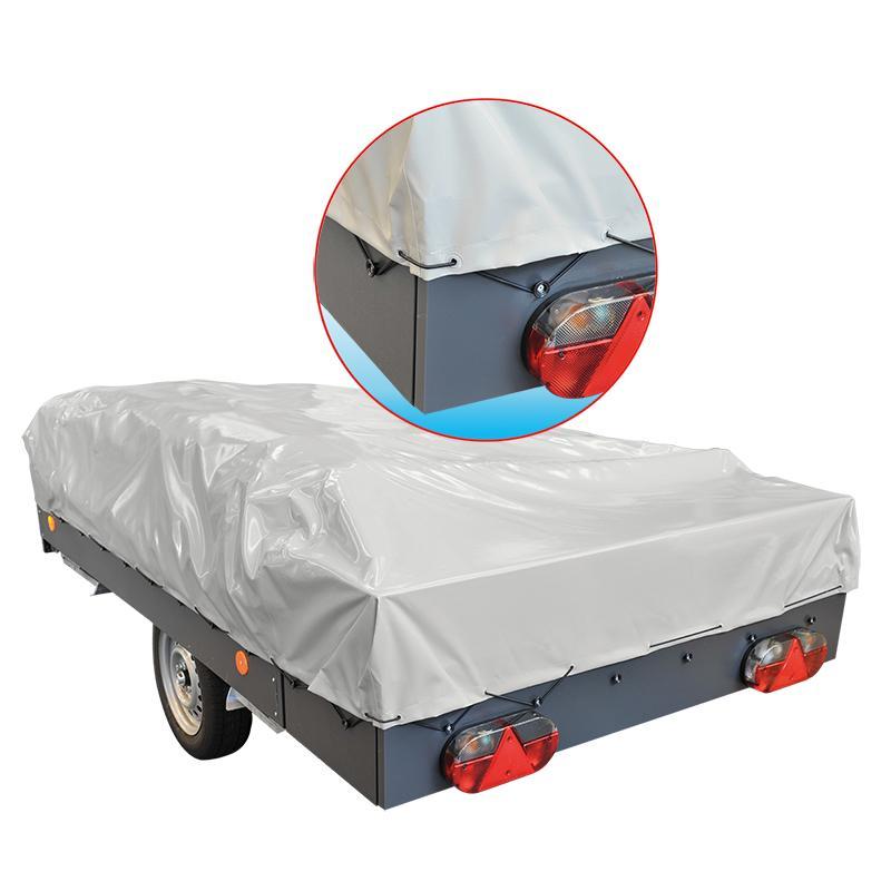 Vouwwagen elastiek voor bevestigen aanhangernet of afdekzeil