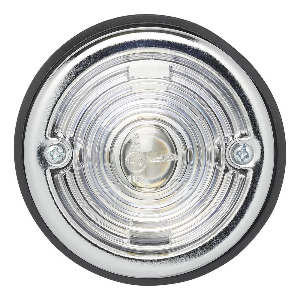 Markeringslamp wit 70mm