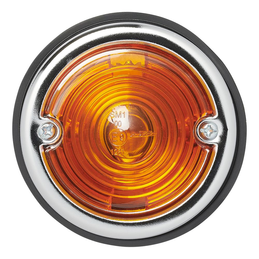 Markeringslamp oranje 70mm