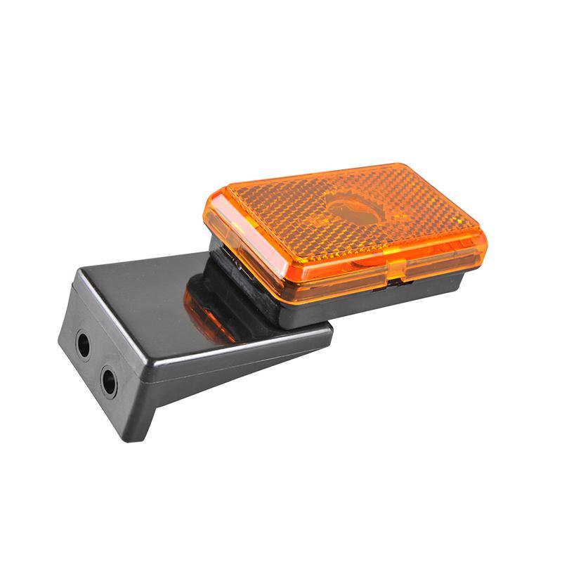 Markeringslamp oranje 110x45x51mm