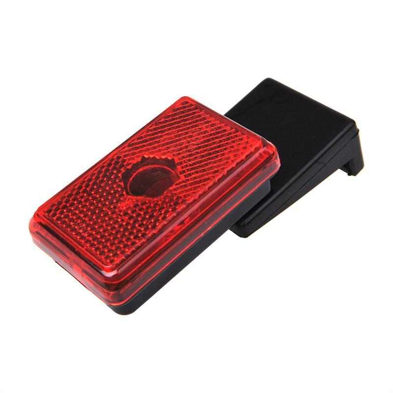 Markeringslamp rood 110x45x51mm
