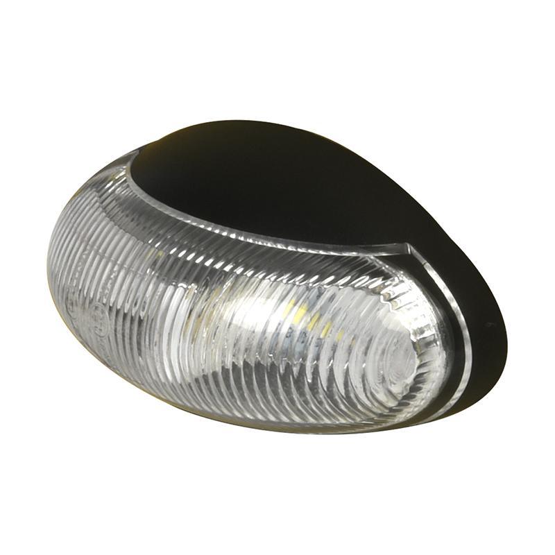 Markeringslamp 10-30V wit 60x34mm LED
