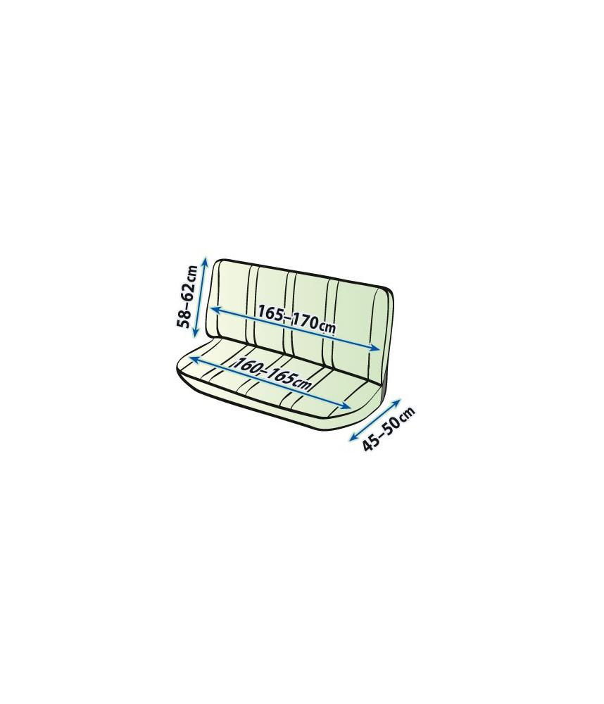 Stoelhoes skai bedrijfswagen achterbank Praktical DV4 XL