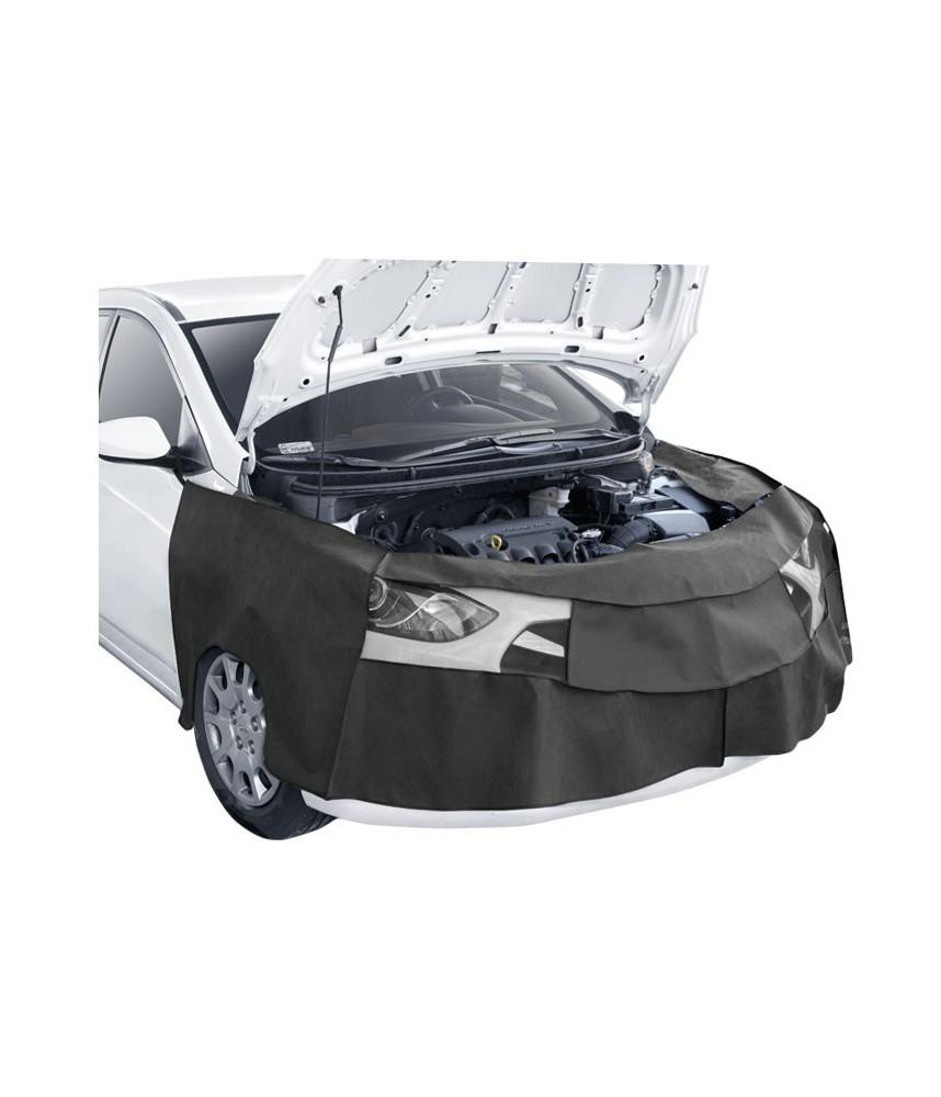 Beschermhoes voor voorzijde auto bij montage
