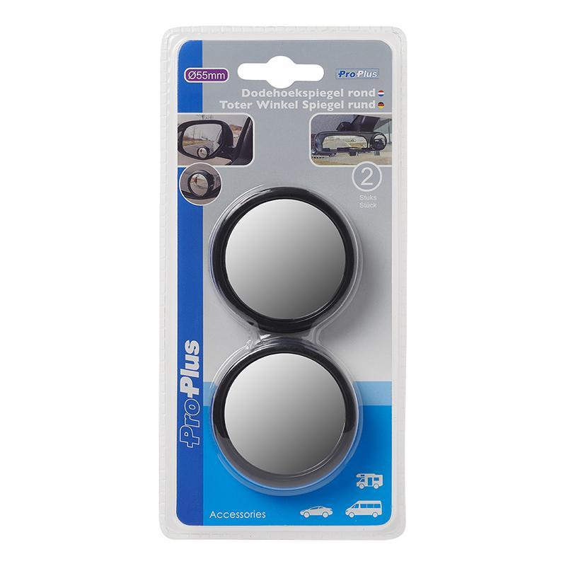 Dodehoekspiegel rond Ø55mm set van 2 stuks