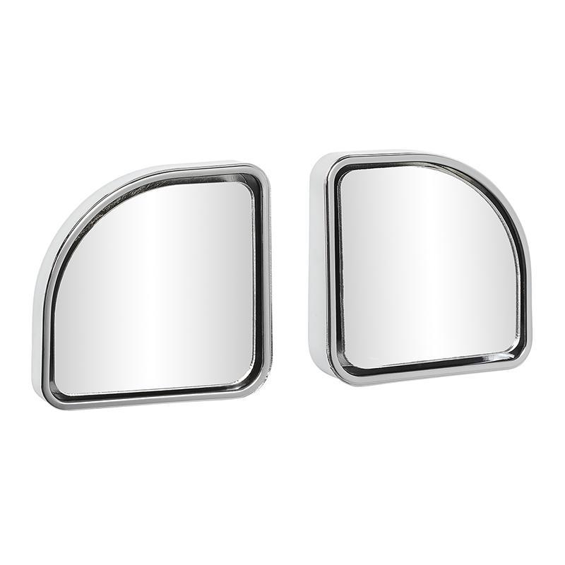 Dodehoekspiegel 50x50mm set van 2 stuks