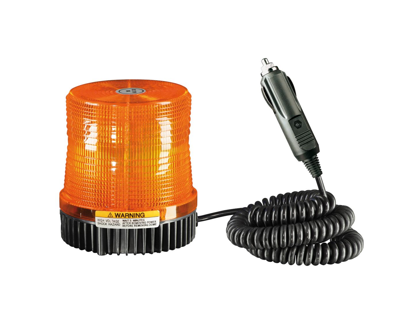 Zwaailamp flitslamp 12V oranje
