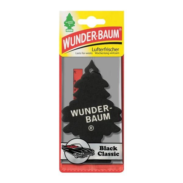 Luchtverfrisser auto  Wonderboom black classic