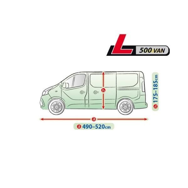 Autohoes Bedrijfswagens 490-520cm