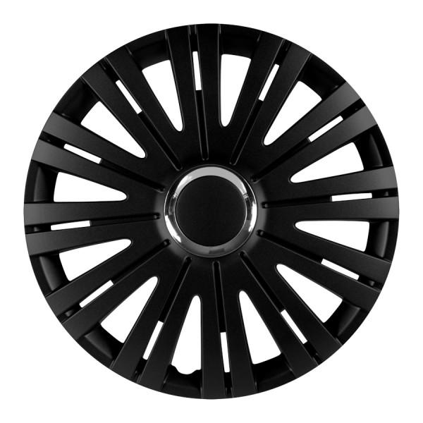 Wieldoppen Active RC zwart 15 inch 4-delig set