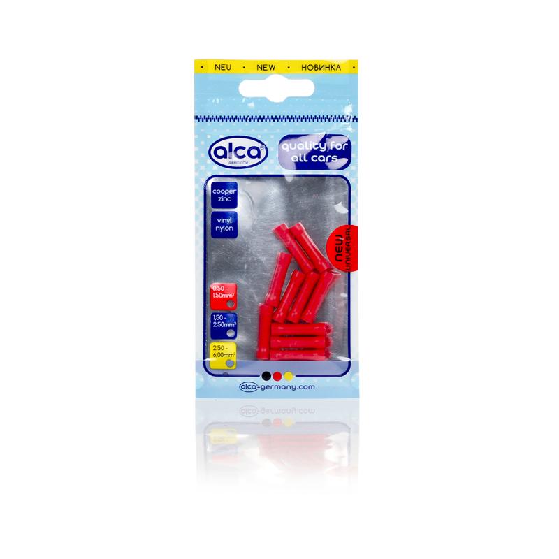 Kabelverbinders rood 1,7mm 10 stuks