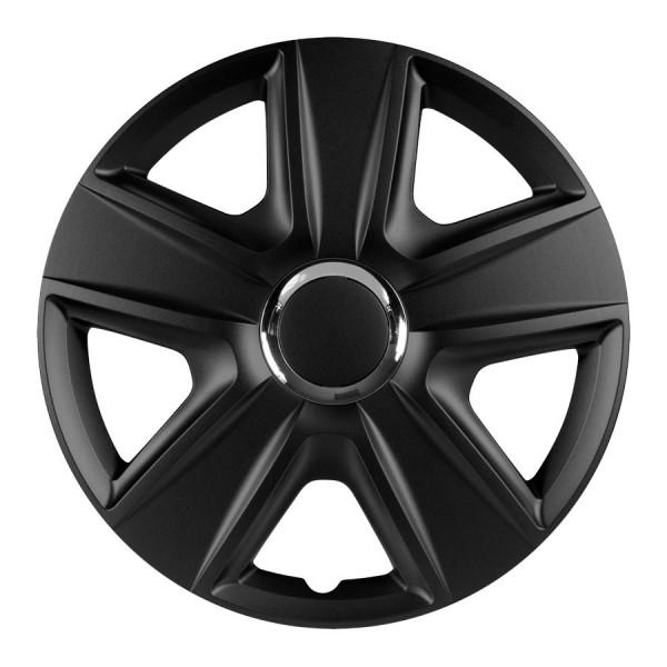 Wieldoppen Esprit zwart 14 inch 4-delig set