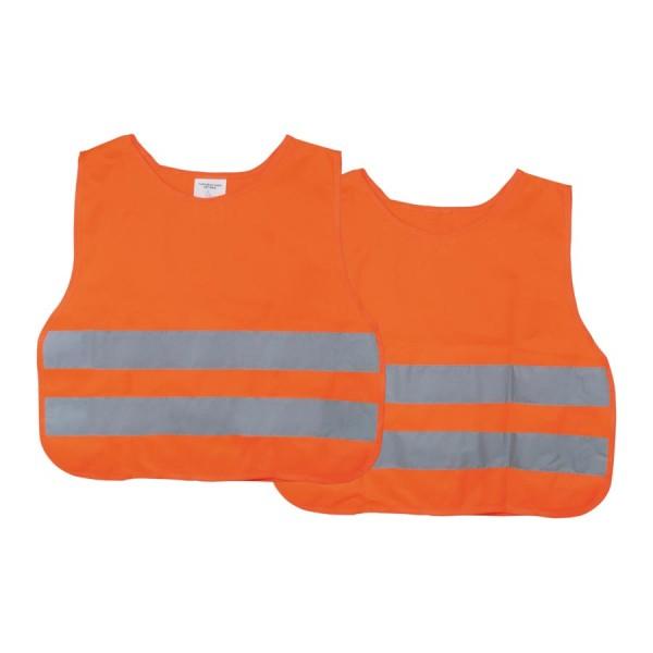 Veiligheidsvest oranje kind