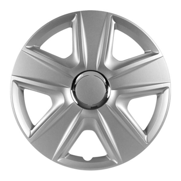 Wieldoppen Esprit RC zilver 14 inch 4-delig set