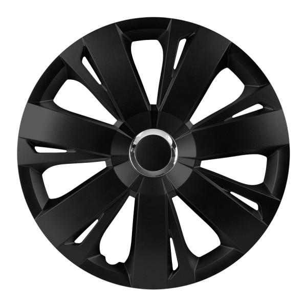 Wieldoppen Energy RC zwart 16 inch 4-delig