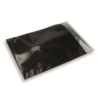 Folie envelop Zwart 235x325mm A4/C4