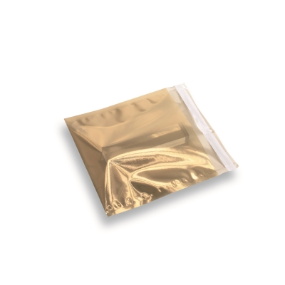 Folie envelop Goud transparant 160x160mm