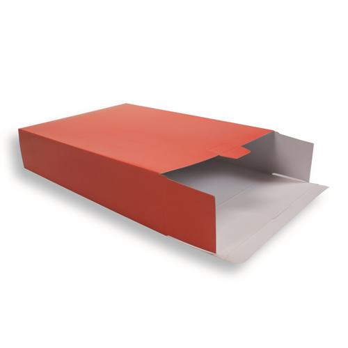 Kartonnen verzendverpakking 420 mm x 305 mm Rood
