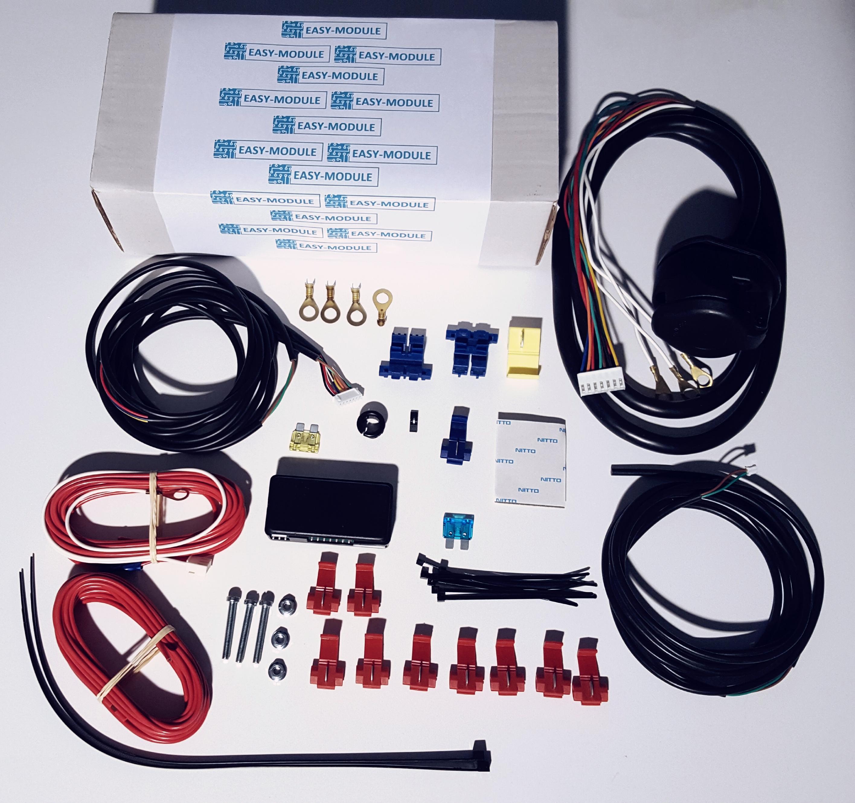 trekhaak kabelset missan murano easy module geschikt voor canbus