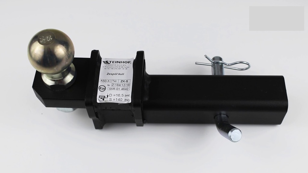 trekhaak usa koppelstuk zk-5 adapter 50x50