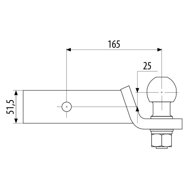 trekhaak amerikaanse auto koppelstukken connector