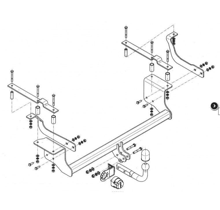 Trekhaak Suzuki Ignis III ( MF ) bouwjaren vanaf 2016 vaste trekhaak
