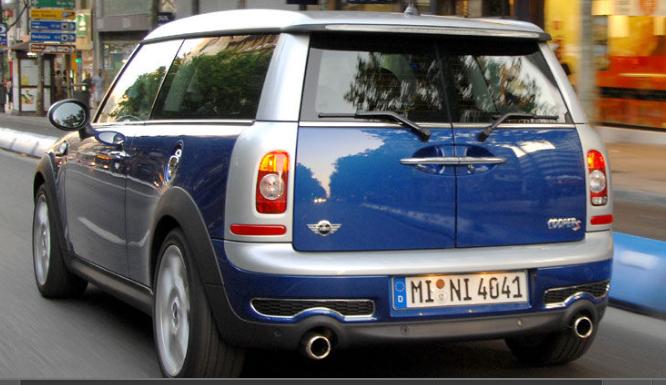 Trekhaak Mini Clubman R55 Clubman Bouwjaren 2007 tot 2014 Afneembare trekhaak met trekgewicht en kabelset 7 of 13 polig