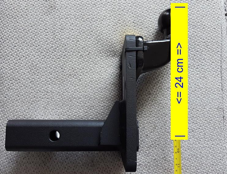 Trekhaak USA cars koppelstuk 5611ZK-6 | Met RDW keuring