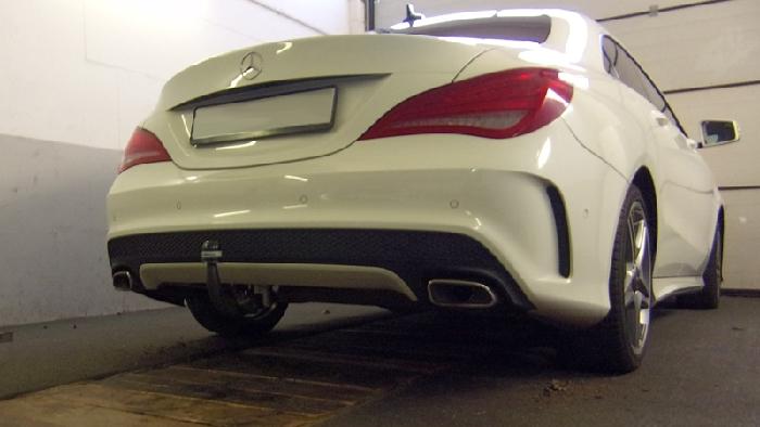 trekhaak Mercedes-CLA C117 Coupe AMG Sportpakket