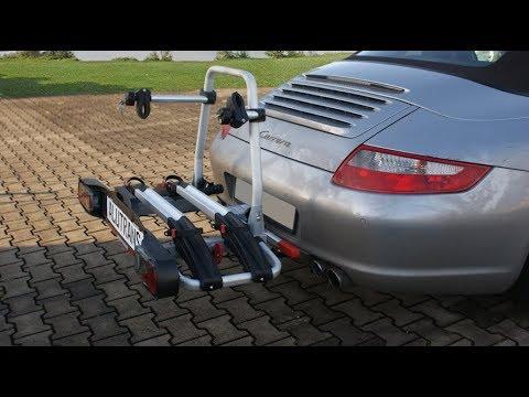 trekhaak Porsche 911afneembaar fietsendrager.