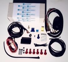 Trekhaak kabelset Easy module 7 polig met parkeersensoren optie trekhaak bekabeling
