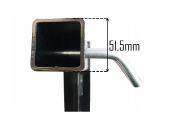 trekhaak kogel 2 inch 51,5 centimeter