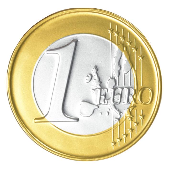 Chocolate Euro Coin (50 gr.)