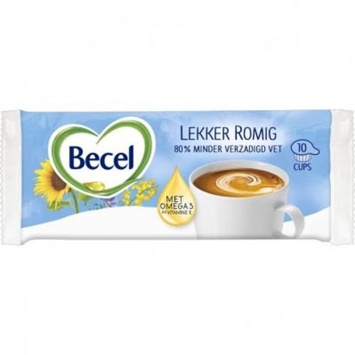 Becel Lekker Romig Koffiemelk Cups
