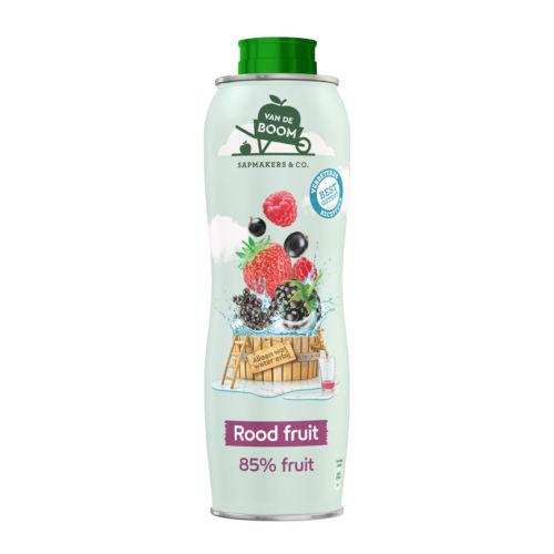 Van de Boom Siroop rood fruit (750 ml.)