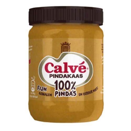 Calvé 100% Pindakaas Fijn Gemalen