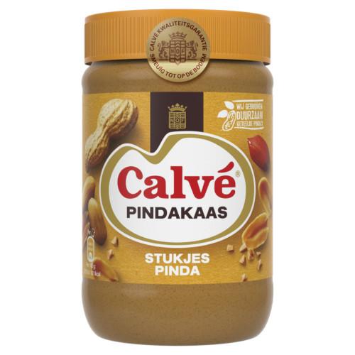 Calvé peanut butter with nut pieces (650 gr.)