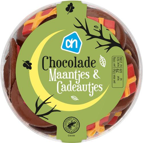 Sinterklaas chocolade maantjes en pakketjes