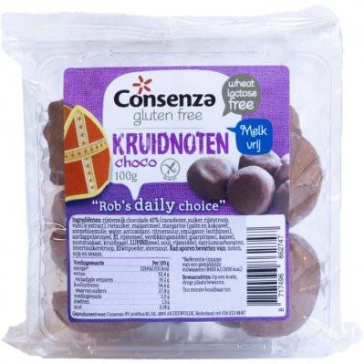 Consenza Kruidnoten Choco Glutenvrij (150 gr.)