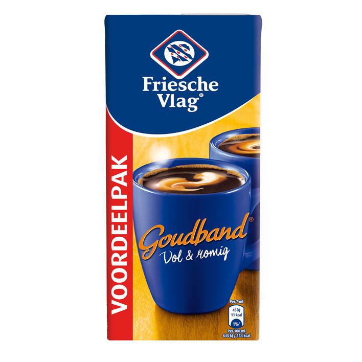 Friesche Vlag Goudband Coffee Creamer  (1 liter)