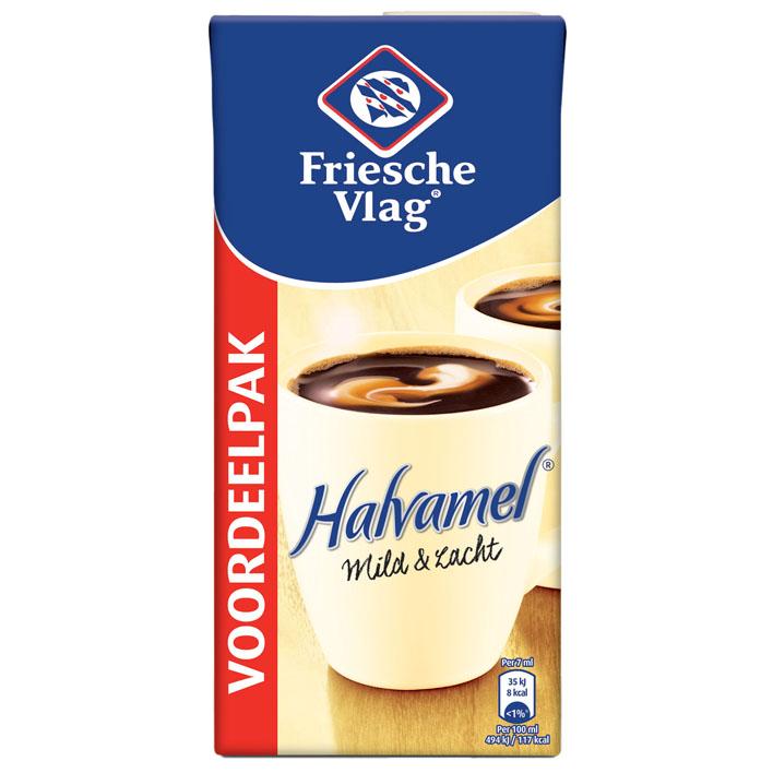 Friesche Vlag Halvamel Coffee Creamer (1 liter)